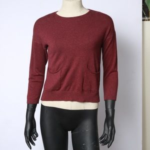 Zara knitwear sweater with front pockets